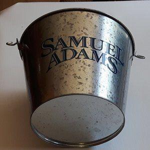 Samuel Adams Beer Bucket Galvanized Metal NEW